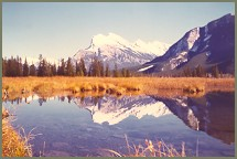 Mount Rundle near Banff